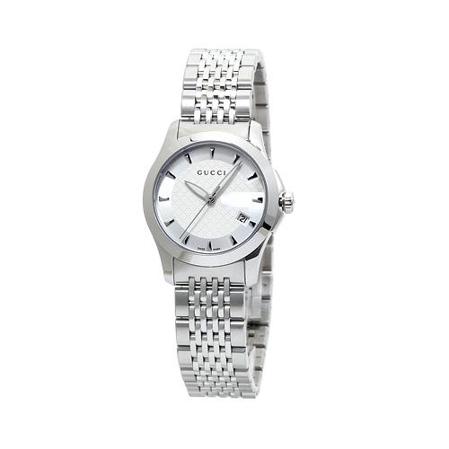 グッチ G-タイムレス YA126501 レディース シルバー 時計/ウォッチ