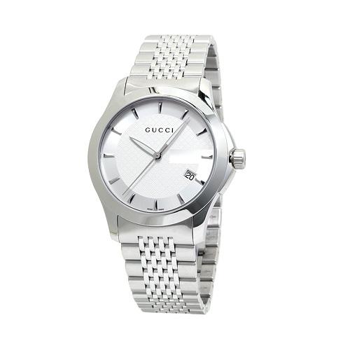 グッチ YA126401 G-タイムレス メンズ シルバー 時計/ウォッチ