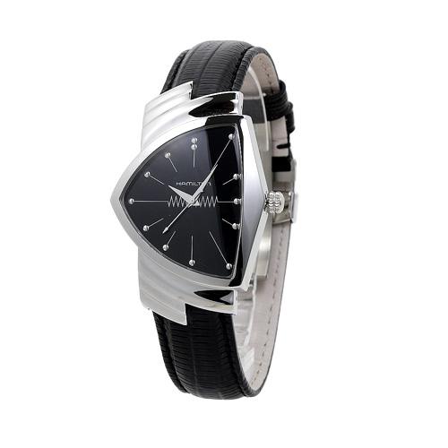 ハミルトン HAMILTON ベンチュラ メンズ H24411732 ブラック/ブラックレザー 時計/ウォッチ