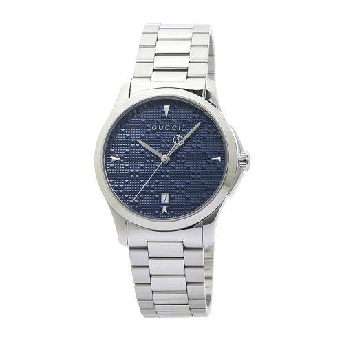 グッチ GUCCI YA1264025 G-タイムレス メンズ ブルー・ディアマンテ 時計/ウォッチ