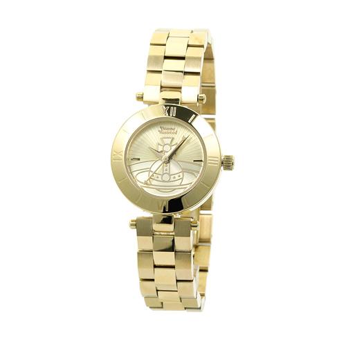 ヴィヴィアンウエストウッド Vivienne Westwood レディース 時計 ウォッチ VV092CPGD ゴールド文字盤