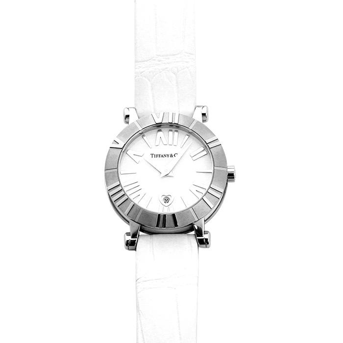 ティファニー TIFFANY アトラス Z1300.11.11A20A71A ホワイト ホワイトベルト レディース 時計 ウォッチ