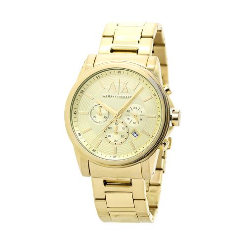 アルマーニ・エクスチェンジ Armani Exchange AX2099 メンズ オールゴールド 時計/ウォッチ