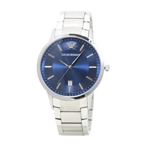 エンポリオ・アルマーニ クラシック AR2477 メンズ ブルー 時計/ウォッチ