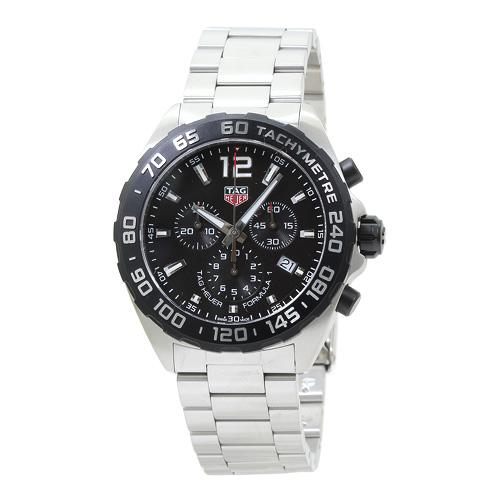 タグ・ホイヤー TAG Heuer Formula1 クロノ メンズ 時計 ウォッチ CAZ1010.BA0842 ブラック