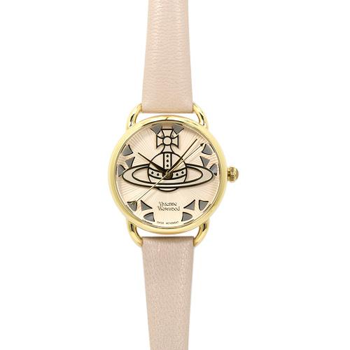 ヴィヴィアンウエストウッド Vivienne Westwood リーデンホール VV163BGPK レディース ライトピンク/ライトピンクレザー 時計/ウォッチ