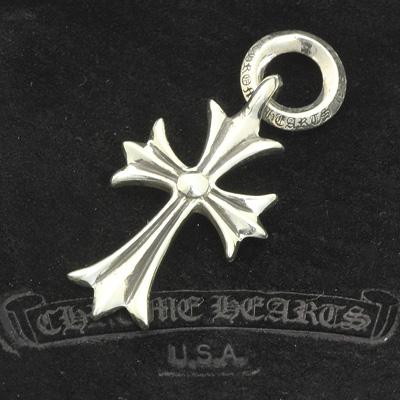 クロムハーツ Chrome Hearts タイニークロス Tiny CH Cross Charm ペンダントトップ チャーム シルバー925