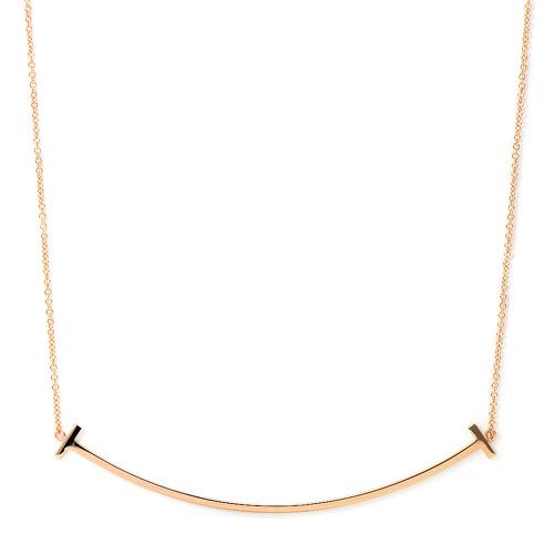 ティファニー TIFFANY Tスマイル ペンダント 33637152 K18ピンクゴールド ネックレス