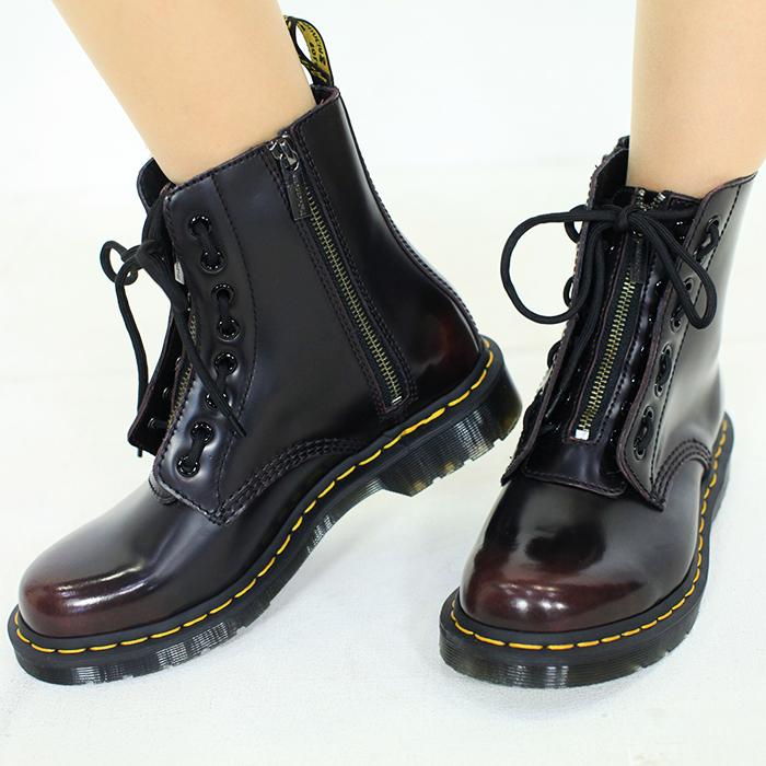 ドクターマーチン Dr.MARTENS 8ホールブーツ 8 EYE BOOT シューズ 靴 1460 PASCAL FRONT ZIP レディース 国内正規品 【キャッシュレス還元対応】