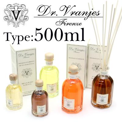 ドットール・ヴラニエス Dr.Vranjes リードディフューザー 500ml