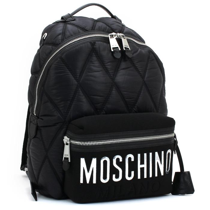 モスキーノ MOSCHINO リュック バッグパック B7604 8207 【キャッシュレス還元対応】