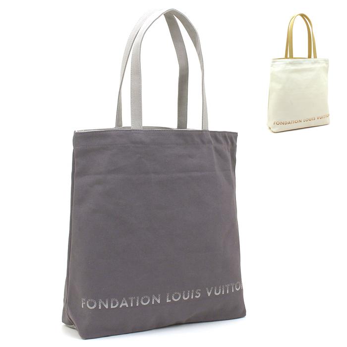ルイヴィトン LOUIS お歳暮 VUITTON フォンダシオンルイヴィトン Fondation TOTE [再販ご予約限定送料無料] トートバッグ Vuitton Louis