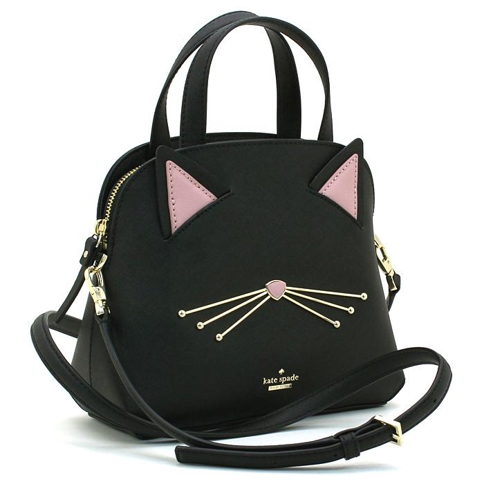 ケイトスペード kate spade キャッツミャオキャットスモールロッティー CAT'S MEOW CAT SMALL LOTTIE ハンドバッグ(ショルダー付) PXRU9448