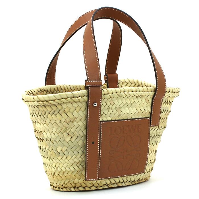ロエベ LOEWE バスケットスモールバッグ BASKET SMALL BAG かごバッグ 327 02 S93