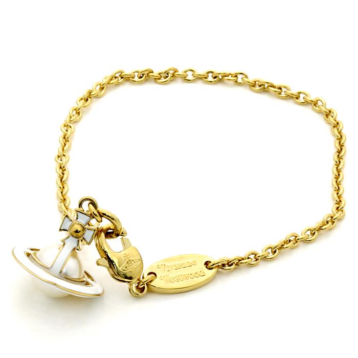 ヴィヴィアンウエストウッド Vivienne Westwood アイリスオーブ IRIS ORB ブレスレット BBL1658 2 ゴールドカラー 【キャッシュレス還元対応】