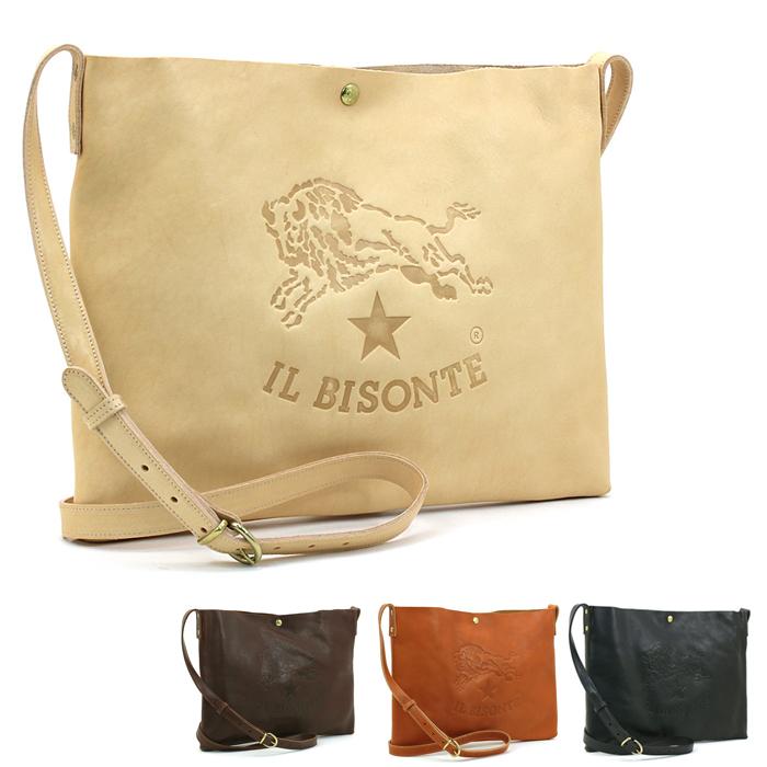イルビゾンテ IL BISONTE ショルダーバッグ A2590 P