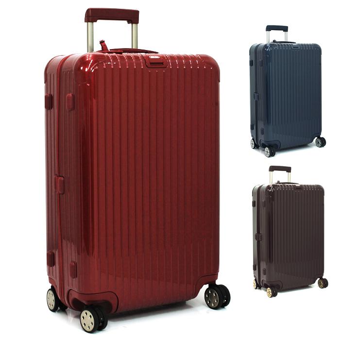 リモワ RIMOWA サルサデラックス SALSA DELUXE 78L キャリーケース スーツケース(TSAロック 電子タグ) 831 70 【キャッシュレス還元対応】