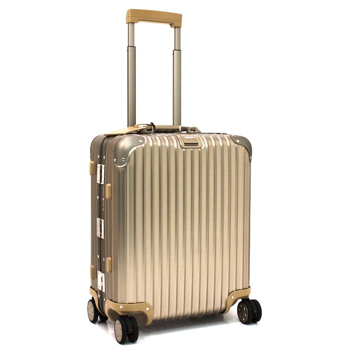 リモワ RIMOWA トパスチタニウム TOPAS TITANIUM 45L キャリーケース スーツケース(TSAロック) 923 56 【キャッシュレス還元対応】