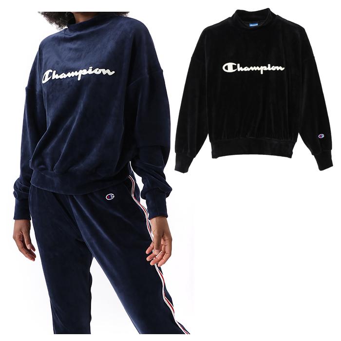 ■ポイント10倍■ チャンピオン CHAMPION モックネックシャツ ランキングTOP5 CW QS004 レディース キャッシュレス還元対応 国内正規品 全品送料無料