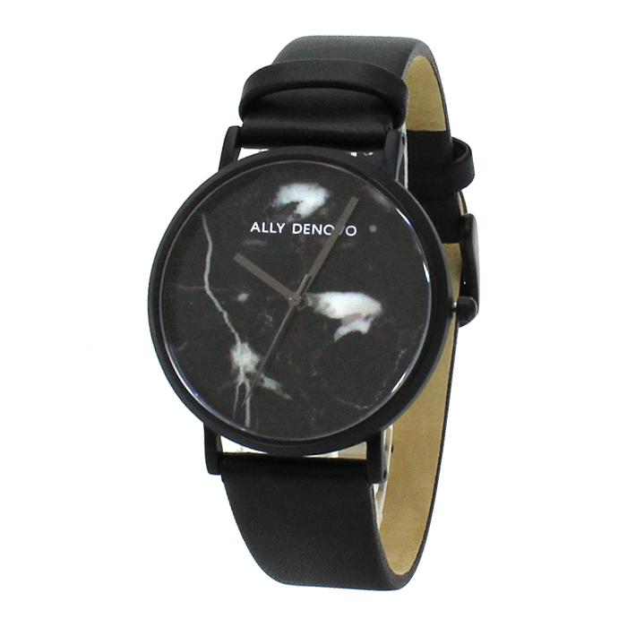 アリーデノヴォ ALLY DENOVO カララマーブル 36mm Carrara Marble 36mm レディース 時計 ウォッチ AF5005 3 ブラックマーブル文字盤 【キャッシュレス還元対応】