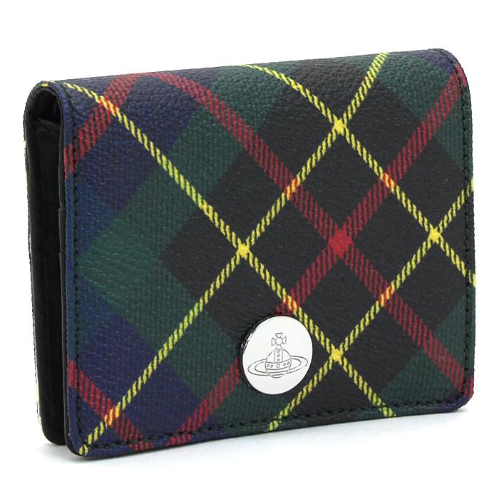 ヴィヴィアンウエストウッド Vivienne Westwood エディ EDIE 二つ折り財布 51070029 10256 【キャッシュレス還元対応】