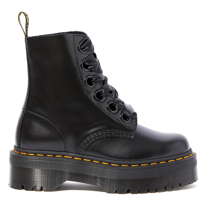 ドクターマーチン Dr.MARTENS 6ホールブーツ 6 EYE BOOT シューズ 靴 MOLLY レディース 国内正規品 【キャッシュレス還元対応】