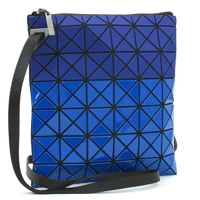 バオバオイッセイミヤケ BAO BAO ISSEY MIYAKE プリズムビーアイテクスチャ PRISM BI-TEXTURE ショルダーバッグ BB81AG547 ブルー ブルー