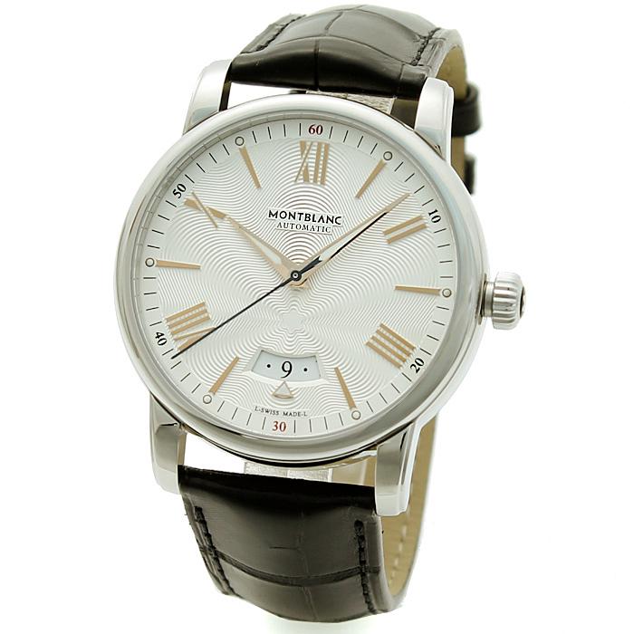 モンブラン MONT BLANC 4810デイトオートマティック メンズ 時計 ウォッチ 114841 シルバリーホワイト