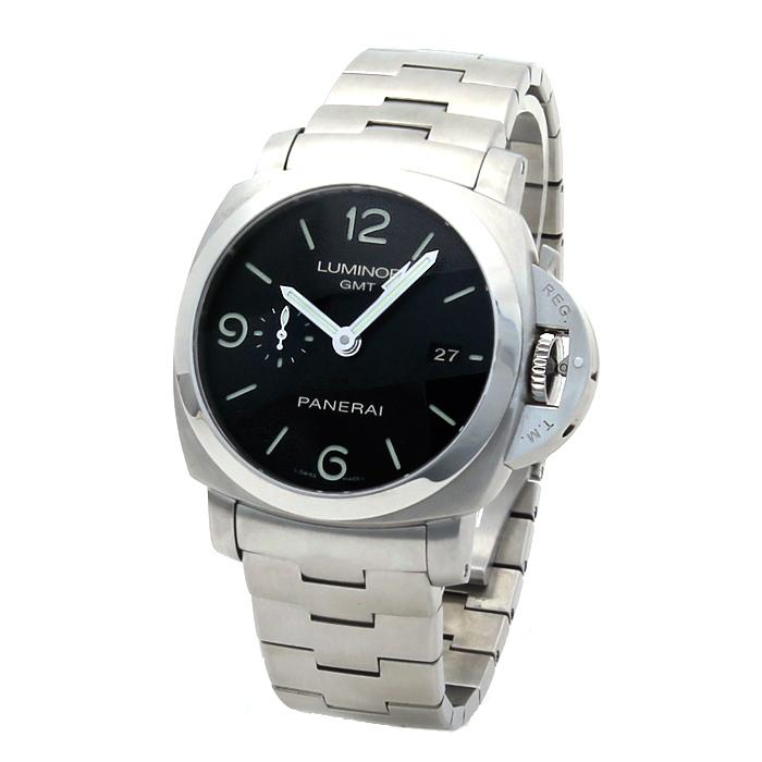 パネライ PANERAI ルミノール1950 3デイズ メンズ 時計 ウォッチ PAM00329 ブラック文字盤