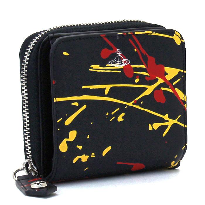 ヴィヴィアンウエストウッド Vivienne Westwood アレックス ALEX 二つ折り財布ラウンドファスナー 51080020 40242