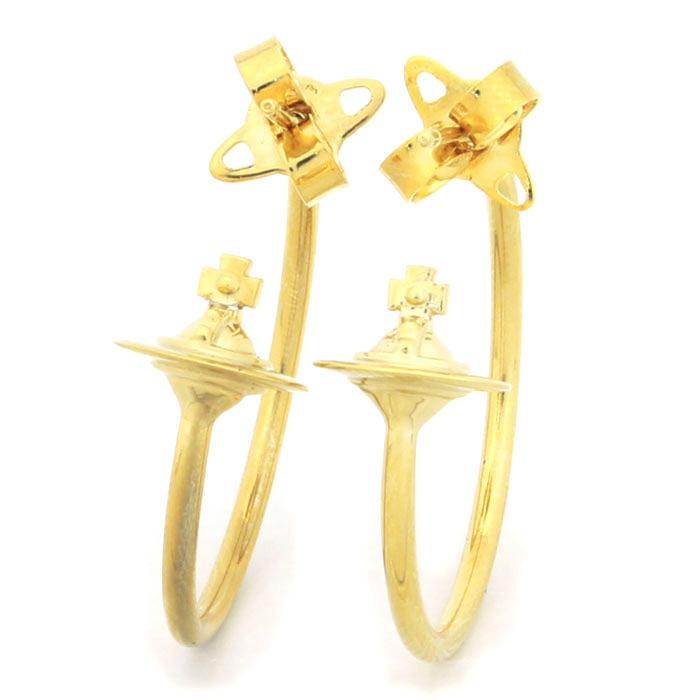 ヴィヴィアンウエストウッド Vivienne Westwood ローズマリースモール ROSEMARY SMALL ピアス BE1642 2 ゴールドカラー