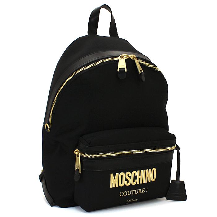 モスキーノ MOSCHINO リュック バックパック B7610 8205 【キャッシュレス還元対応】