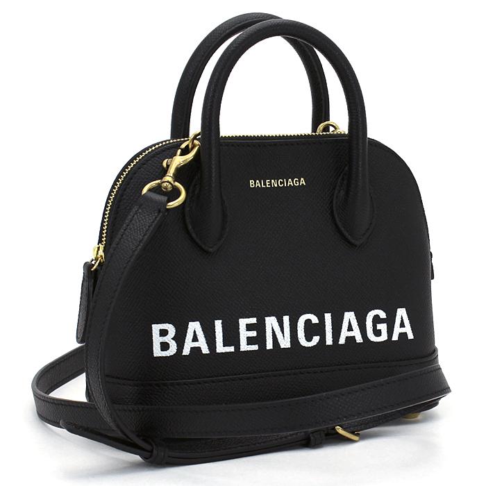 バレンシアガ BALENCIAGA ビルトップハンドル XXS ハンドバッグ(ショルダー付) 525050 0OT0M 【キャッシュレス還元対応】