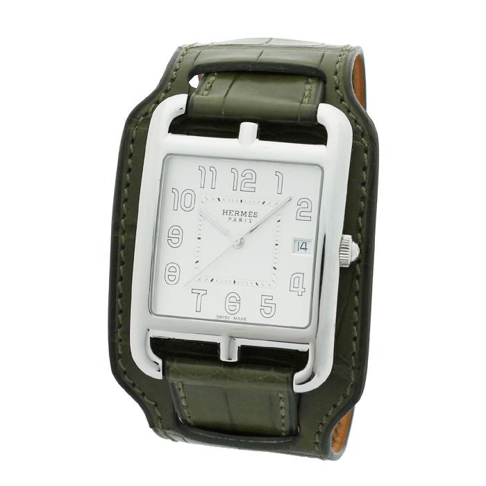 エルメス HERMES ケープコッド Cape Cod ユニセックス 時計 ウォッチ W044337WW00 ホワイト文字盤