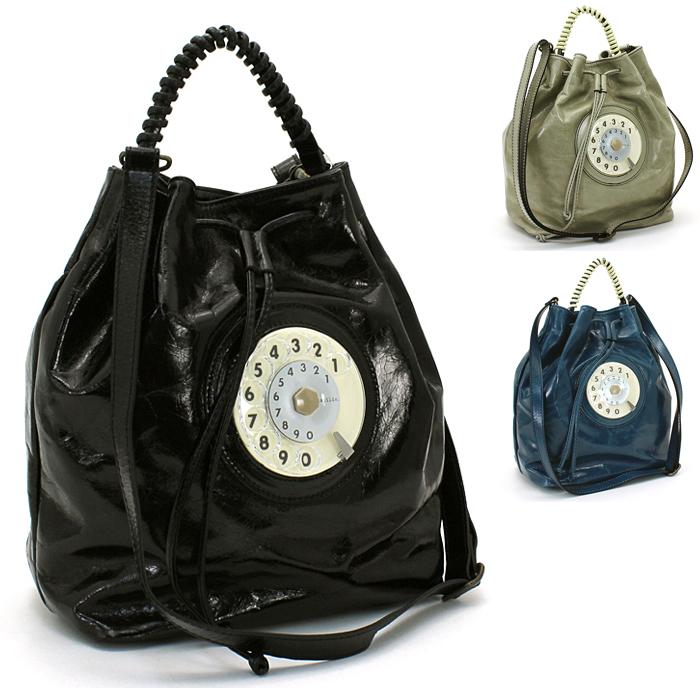【カードでWエントリーでP14倍】 ラティルデ latilde ダイヤルバッグ ハンドバッグ(ショルダー付) Bucket Phone Bag ラティルド 【後払い可能】