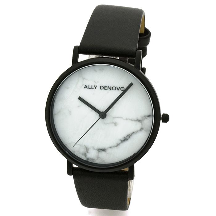 アリーデノヴォ ALLY DENOVO カララマーブル 36mm Carrara Marble 36mm レディース 時計 ウォッチ AF5005 2 ホワイトマーブル文字盤