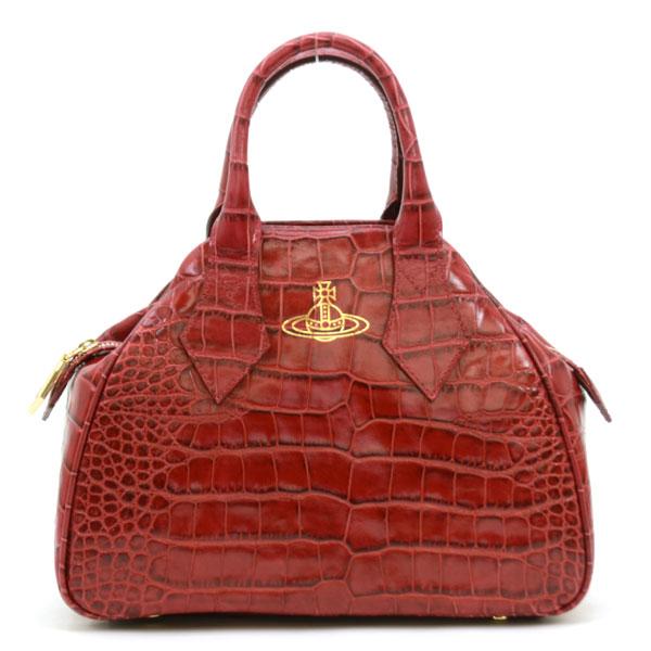 ヴィヴィアンウエストウッド Vivienne Westwood YASMINE ハンドバッグ 42020018 40050 RED DALIAH レッド【NNPG】