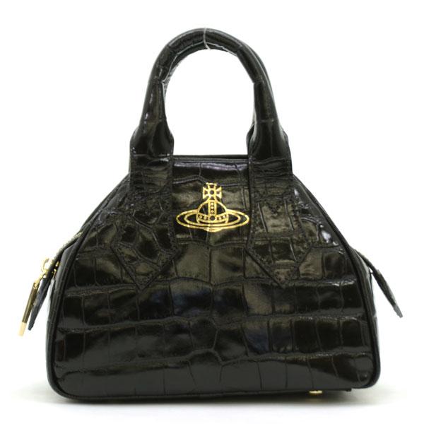 ヴィヴィアンウエストウッド Vivienne Westwood YASMINE ハンドバッグ 42010017 40050 BLACK ブラック【NNPG】