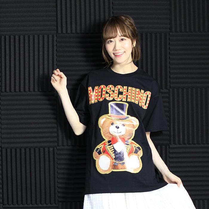 モスキーノクチュール MOSCHINO COUTURE デザインプリントTシャツ 0702 0540 【キャッシュレス還元対応】