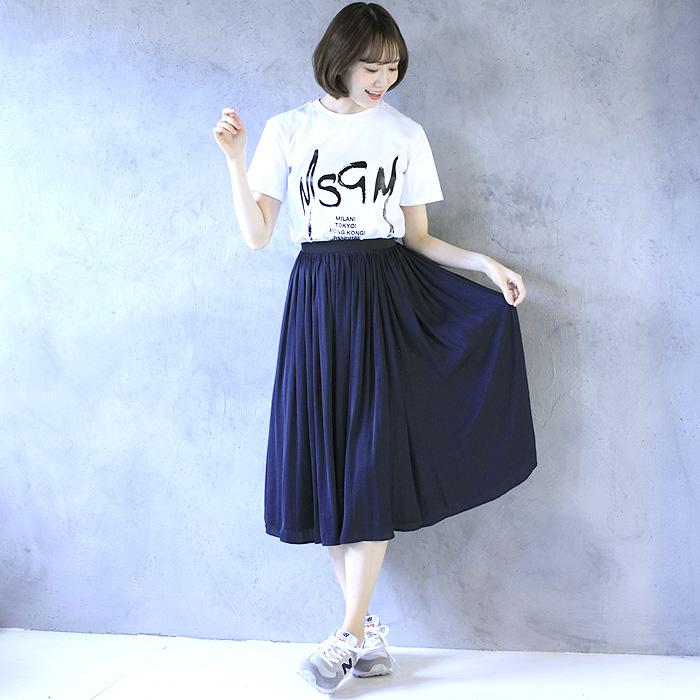 エムエスジーエム MSGM ロゴプリントTシャツ MDM174 298