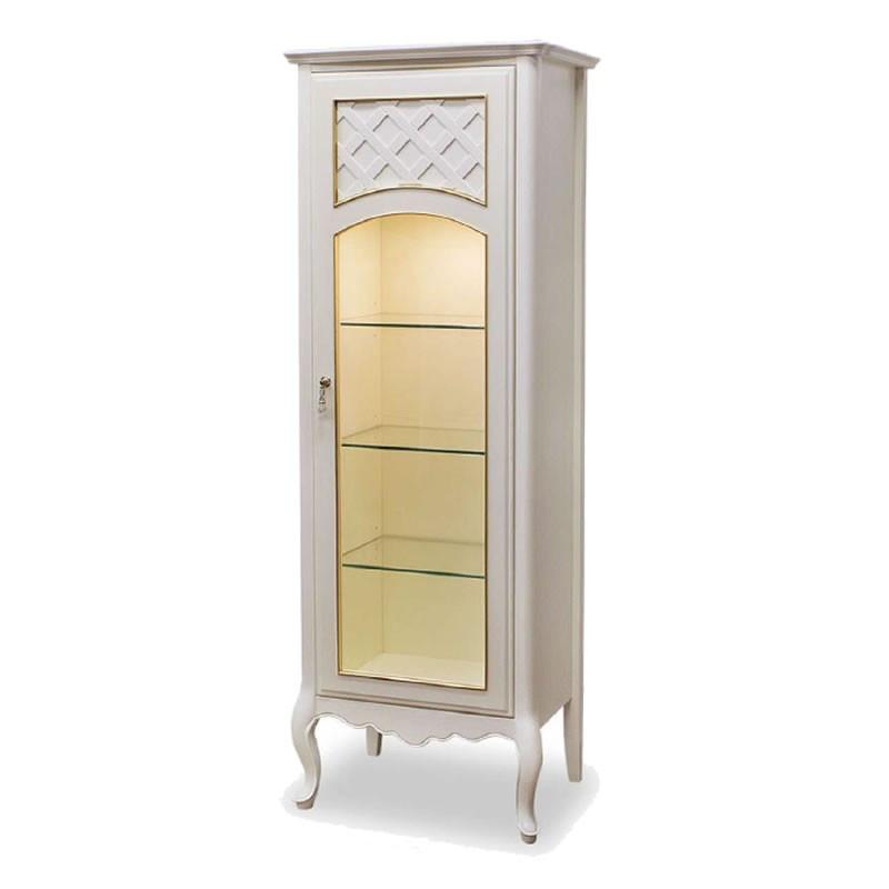 キュリオ50 LEDライト付き ラ・シェリエ 伝統的ヨーロピアンエレガントデザイン アンティーク風 ホワイト色