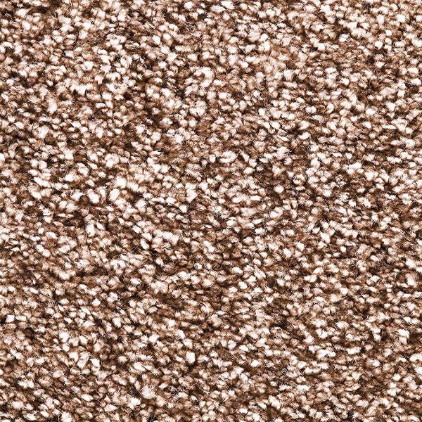 ラグ カーペット 140cm巾 ブラウン色 円形(丸型) ジェイド タフテッド 日本製 ホットカーペットOK