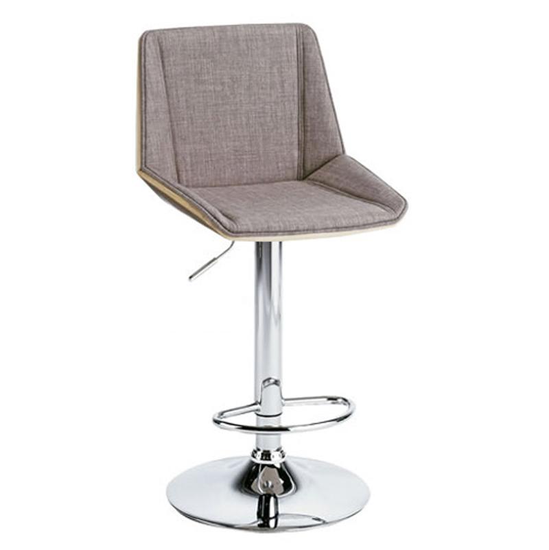 椅子/カウンターチェア バーチェア RETTA レッタ グレー色 組立式 360度回転式