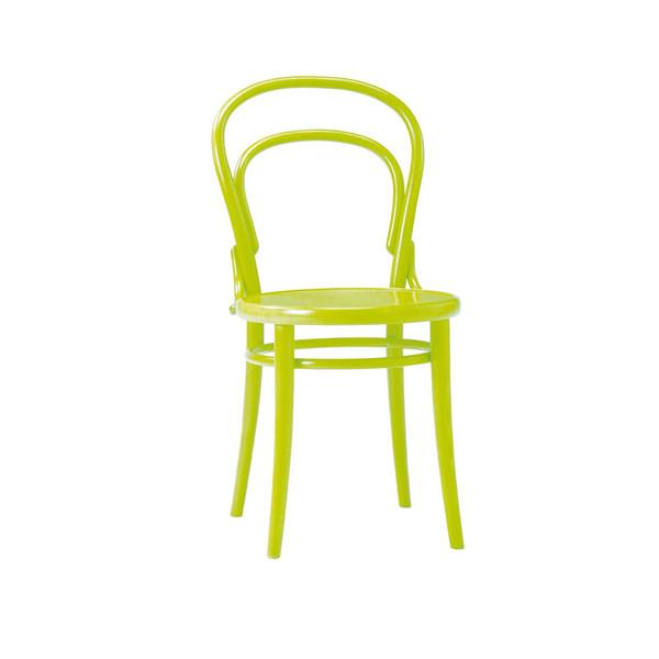 ダイニングチェア 伝統的な「曲げ木」技法で有名なTON社のチェコ製 曲げ木椅子 BCZ-8048-G グリーン色