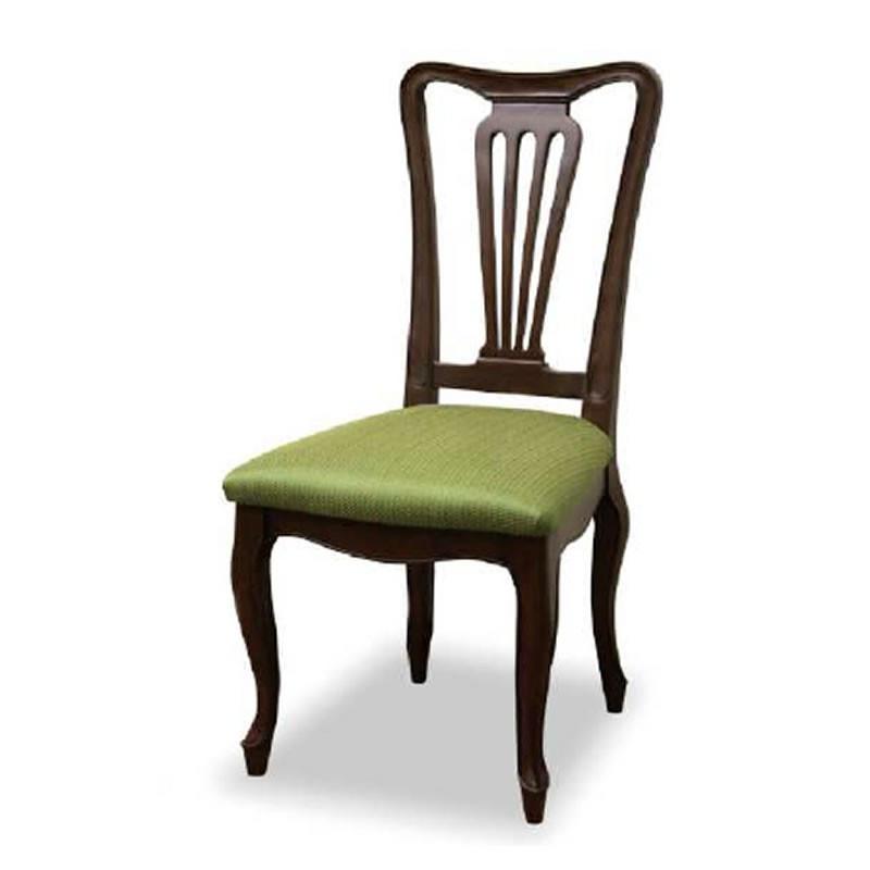 ダイニングチェア 食卓椅子 ケントハウスチェアG グリーン色 ブリティッシュクラシックデザイン アンティークテイスト