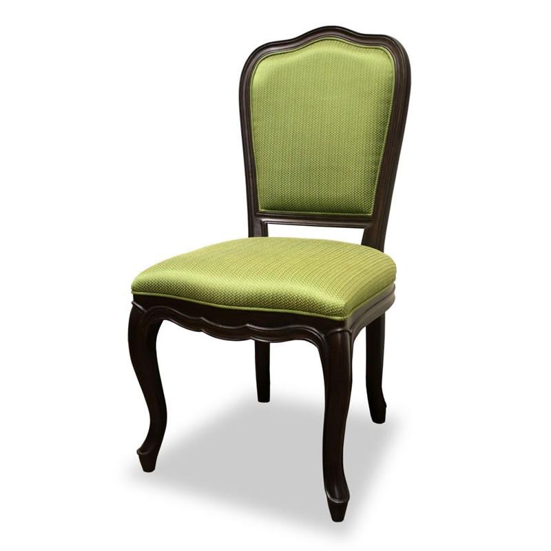 ダイニングチェア 食卓椅子 ケントハウスチェア グリーン色 ブリティッシュクラシックデザイン アンティークテイスト