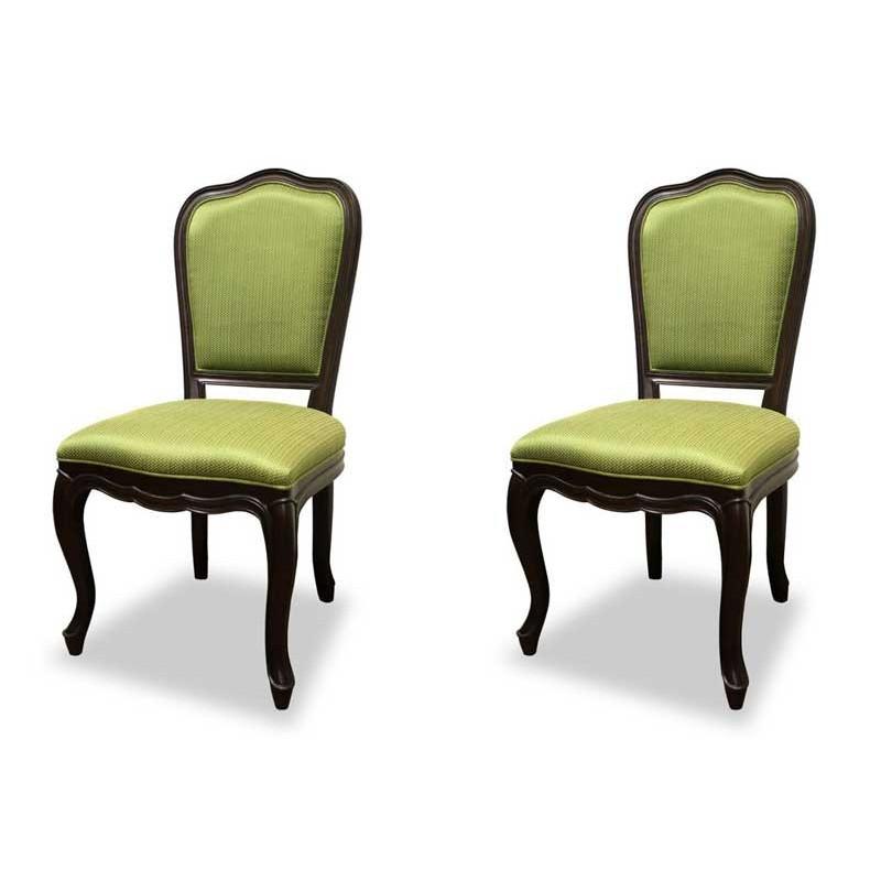 高い品質 ダイニングチェア 食卓椅子 ケントハウスチェア 2脚セット グリーン色 グリーン色 2脚セット ブリティッシュクラシックデザイン アンティークテイスト, 絹屋(きぬや):a89bb189 --- clftranspo.dominiotemporario.com