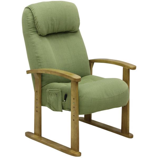 ボリューム高座椅子 VT-200 GN グリーン色