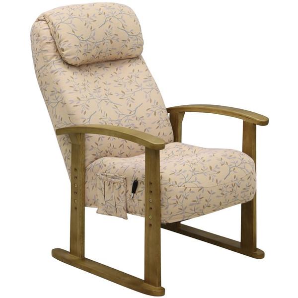 ボリューム高座椅子 VT-200 PI ピンク色