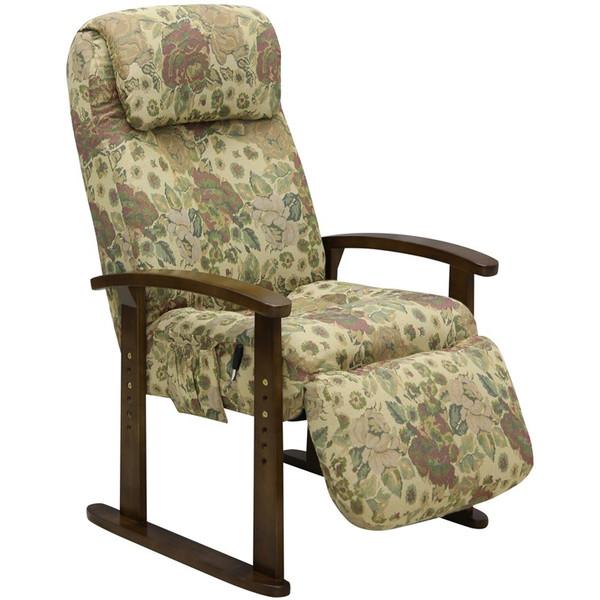 ボリューム高座椅子 オットマン付(脚置き) VT-300 BE ベージュ色